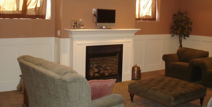 Fireplace Mantel Trim 722 x 366