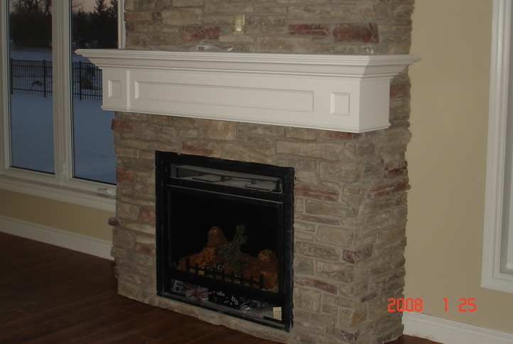 Custom fireplace mantels serving fort erie niagara for Fireplace mantel shelf designs